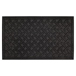 Mohawk Home® Matrix Crossweave Door Mat in Black