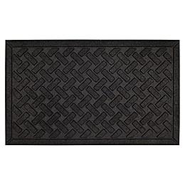 Mohawk Home® Matrix Crossweave Door Mat in Black