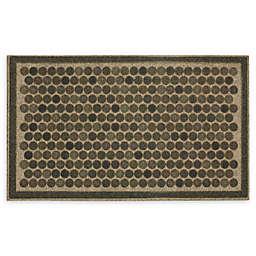 "Mohawk Home® Ornamental Entry Dots Impressions 18"" x 30"" Door Mat in Grey"