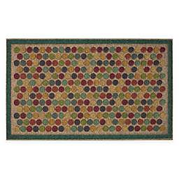 """Mohawk Home® Ornamental Entry Dots Impressions 18"""" x 30"""" Door Mat"""
