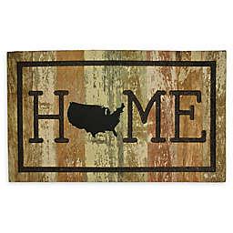"Mohawk Home® USA Home 18"" x 30"" Multicolor Rubber Door Mat"