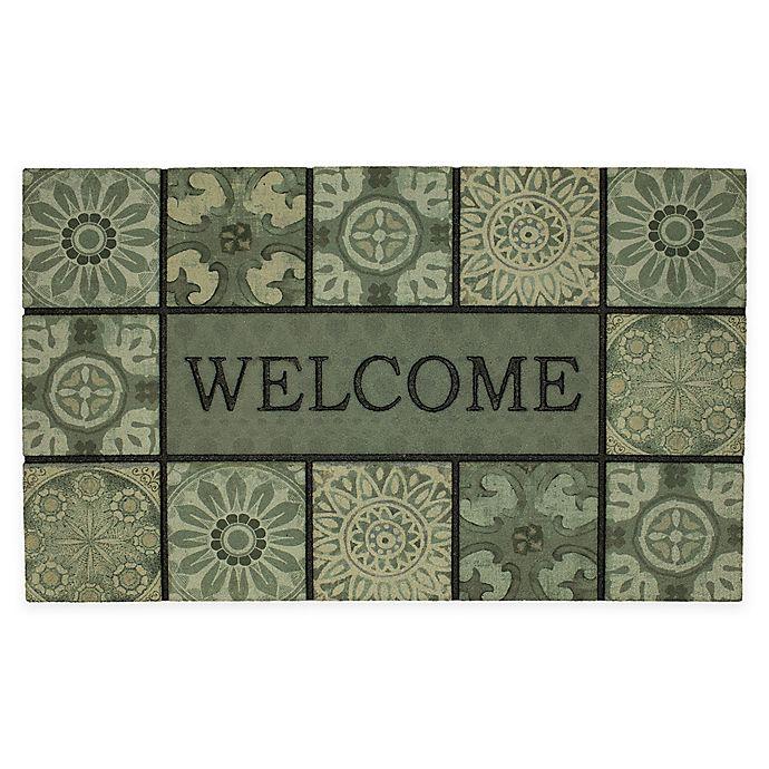 Alternate image 1 for Mohawk Home® Ocean Tiles Welcome 18\