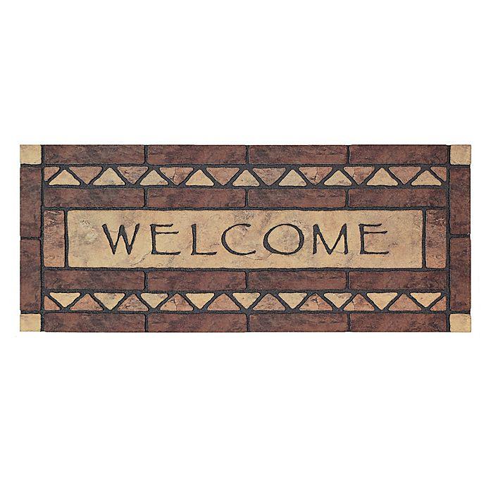 Alternate image 1 for Mohwak Home® Celtic Rocks Welcome 19.5\