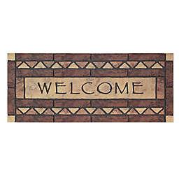 """Mohwak Home® Celtic Rocks Welcome 19.5"""" x 47"""" Multicolor Door Mat"""