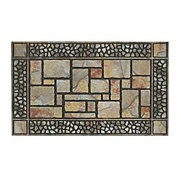 Mohawk Home Patio Stones 19.5-Inch x 47-Inch Multicolor Door Mat