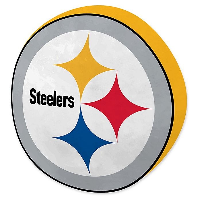 best service 24322 81ccf NFL Pittsburgh Steelers 15-Inch Travel Cloud Pillow | Bed ...