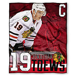 08f0c52bfff NHL Chicago Blackhawks Jonathan Toews Silk Touch Player Throw Blanket