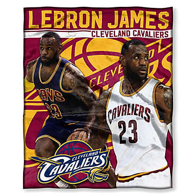 NBA Cleveland Cavaliers Lebron James Silk Touch Throw Blanket