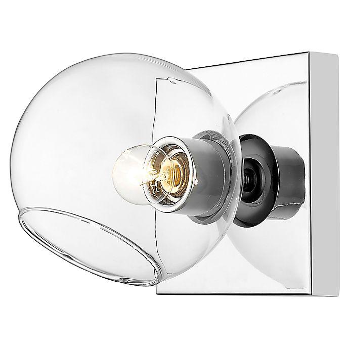 Alternate image 1 for Filament Design Linear 1-Light Wall Sconce in Chrome
