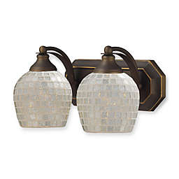 ELK Lighting Vanity Series 2-Light Vanity in Aged Bronze