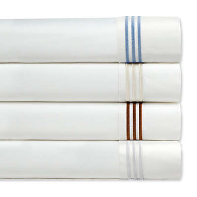 Pointehaven Embroidered 300-Thread-Count Pillowcases (Set of 2)