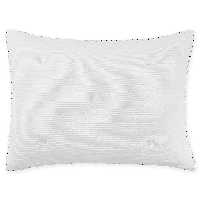 Alternate image 1 for ED Ellen DeGeneres Sonoma King Pillow Sham in White