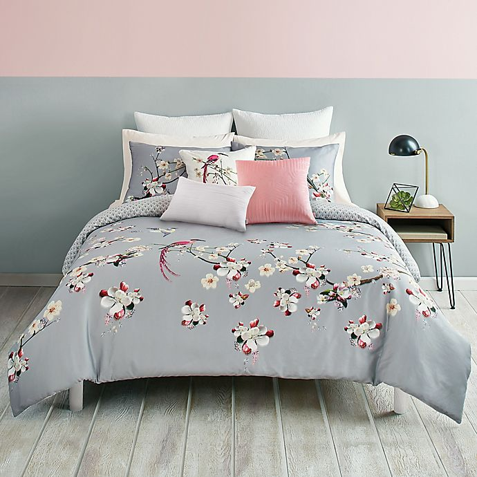 Alternate image 1 for Ted Baker London Flight of the Orient Reversible Duvet Cover Set