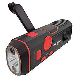 Life Gear® LED Stormproof Crank Radio Light in Red