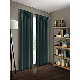Kenneth Cole Reaction Home Gotham Rod Pocket/Back Tab Window Curtain Panel