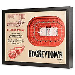 NHL Detroit Red Wings Stadium Views Wall Art
