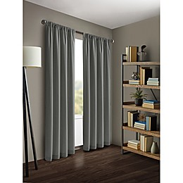 Kenneth Cole Reaction Home Gotham Rod Pocket/Back Tab Window Curtain Panel
