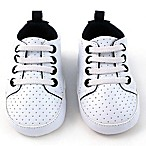 Rising Star™ Size 6-9M High Top Sneaker in White