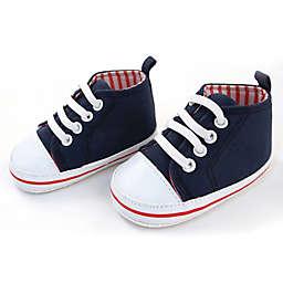 Rising Star™ High-Top Sneaker in Navy/White
