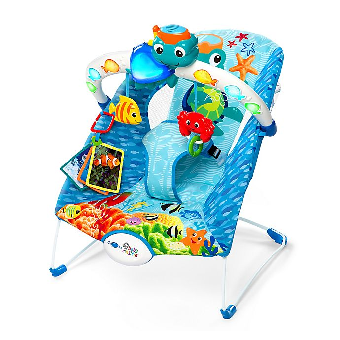 Baby Einstein Neptune Lights And Sea Bouncer Buybuy Baby