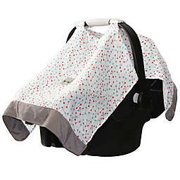 Itzy Ritzy® Cozy Happens Infant Car Seat Muslin Canopy in Flying Arrows