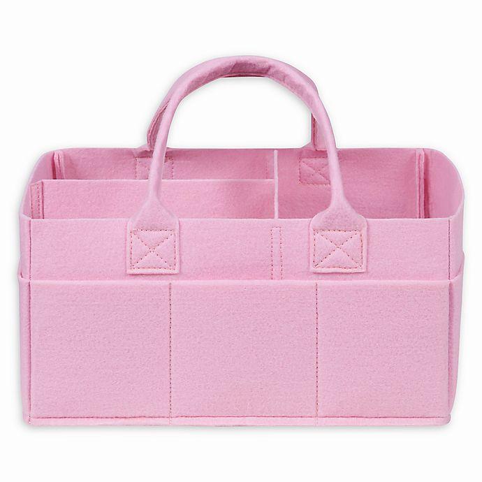 Alternate image 1 for Sammy & Lou Felt Storage Caddy in Pink