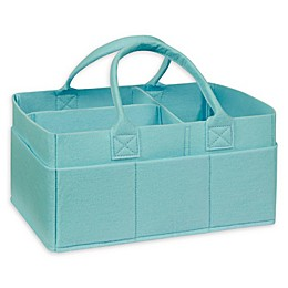 Sammy & Lou Felt Storage Caddy in Pale Aqua