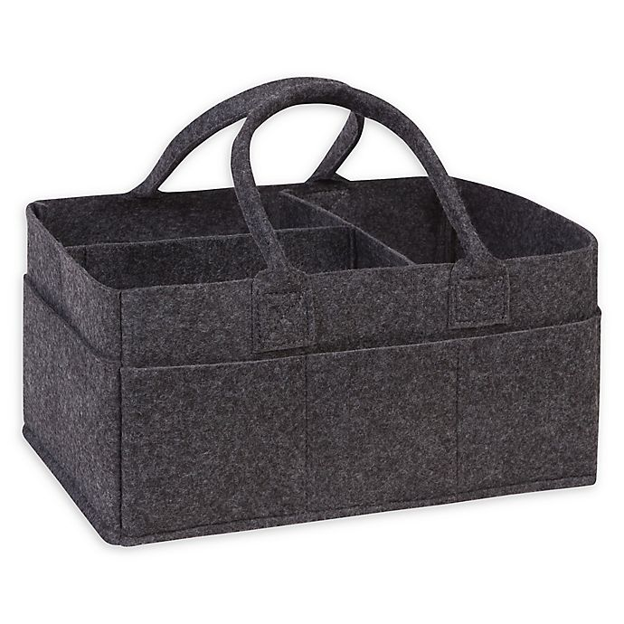 Alternate image 1 for Sammy & Lou Felt Storage Caddy in Charcoal Grey