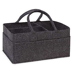 Sammy & Lou Felt Storage Caddy in Charcoal Grey