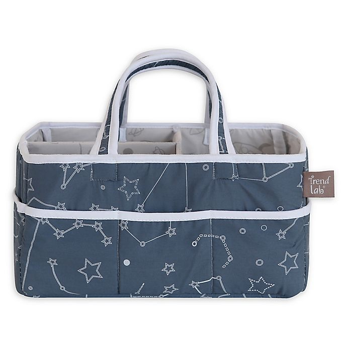 Alternate image 1 for Trend Lab® Celestial Space Galaxy Storage Caddy in Blue/White