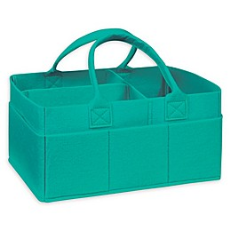 Sammy & Lou Felt Storage Caddy in Teal