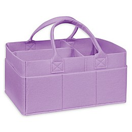 Sammy & Lou Felt Storage Caddy in Lavender