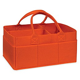 Sammy & Lou Felt Storage Caddy in Orange