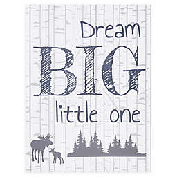 "Trend Lab® ""Dream Big Little One"" 24-Inch x 18-Inch Canvas Wall Art"