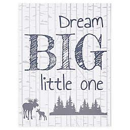 """Trend Lab® """"Dream Big Little One"""" 24-Inch x 18-Inch Canvas Wall Art"""