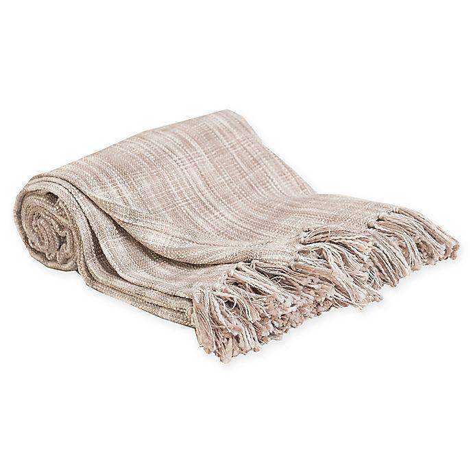Alternate image 1 for Carol & Frank Thatcher Throw Blanket in Dune