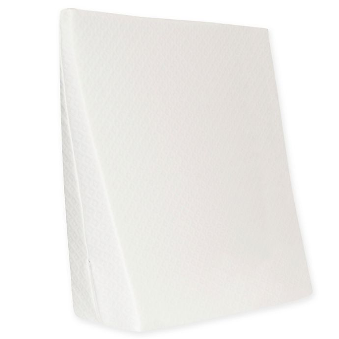 Alternate image 1 for Therapedic® Bed Wedge Replacement Cover in White