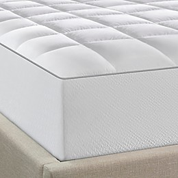 Tempur-Pedic® Fresh and Clean Ordor Neutralizing Zip-Off Top Mattress Pad