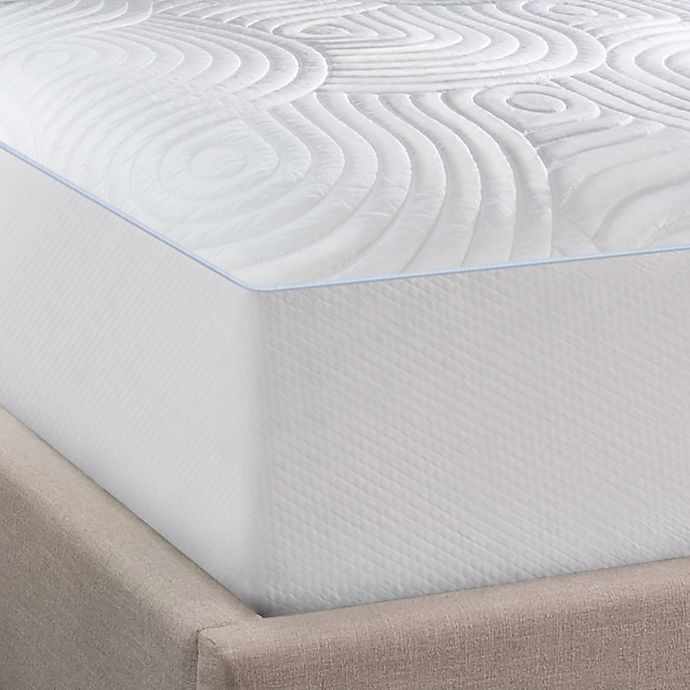 Alternate image 1 for Tempur-Pedic® Performance Luxury Cooling WaterProof Queen Mattress Pad