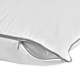 Tempur-Pedic® Fresh and Clean Odor Neutralizing Zippered Pillow Protector in White