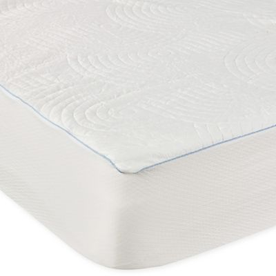 tempur pedic performance luxury cooling waterproof mattress protector bed bath beyond. Black Bedroom Furniture Sets. Home Design Ideas