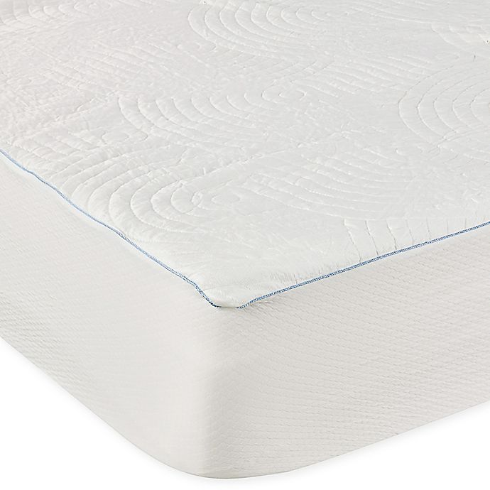 Alternate image 1 for Tempur-Pedic® Performance Luxury Cooling Waterproof Queen Mattress Protector