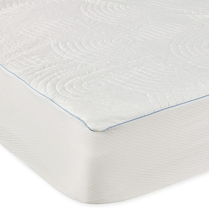 Alternate image 1 for Tempur-Pedic® Performance Luxury Cooling Waterproof King Mattress Protector