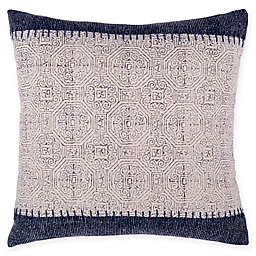 Fab Habitat Jaipur Throw Pillow in Blue