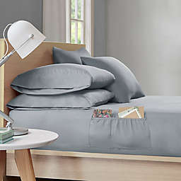 Intelligent Design Microfiber Sheet Set with Pocket