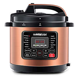 GoWISE USA® Copper 6qt. 12-in-1 Electric Pressure Cooker