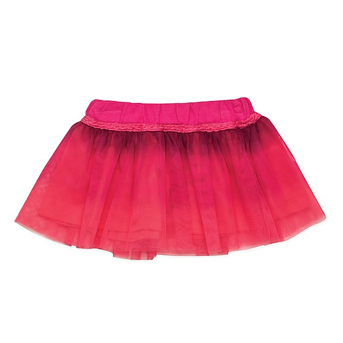 Alternate image 1 for Baby Starters® Ombré Tutu Skirt in Pink