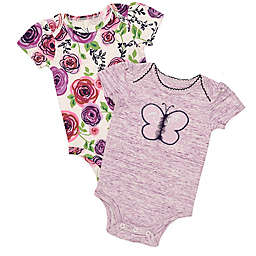 5e3062267a Baby Starters reg  2-Pack Butterfly Bodysuits ...