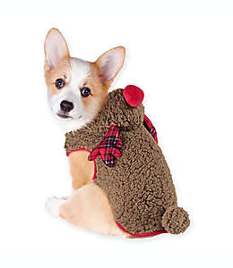 Disfraz de reno para mascota mediano