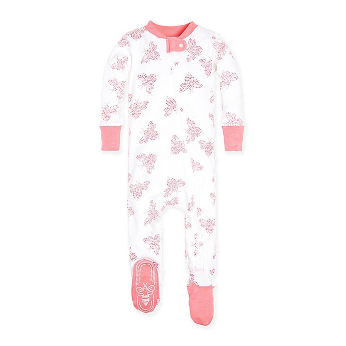 134e9a8f6545 Burt s Bees Baby® Snuggle Bee Footie in Ivory